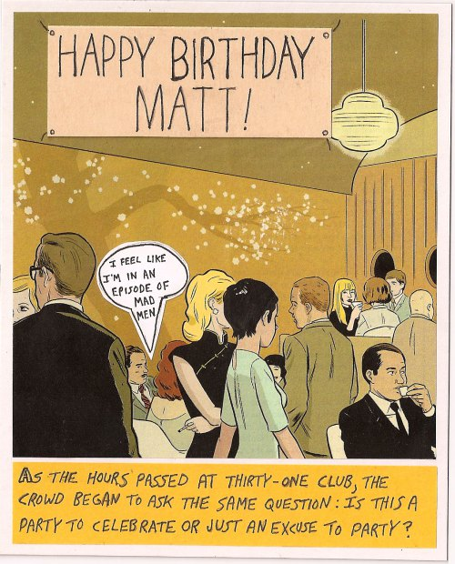 writing Archives Mike Ralph Creative – Mad Men Birthday Card